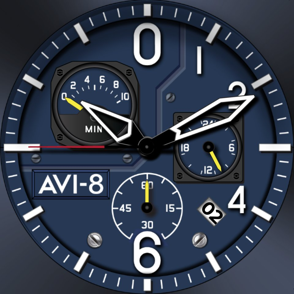 Image result for AVI-8 AV-4052 Hawker Hunter Watch