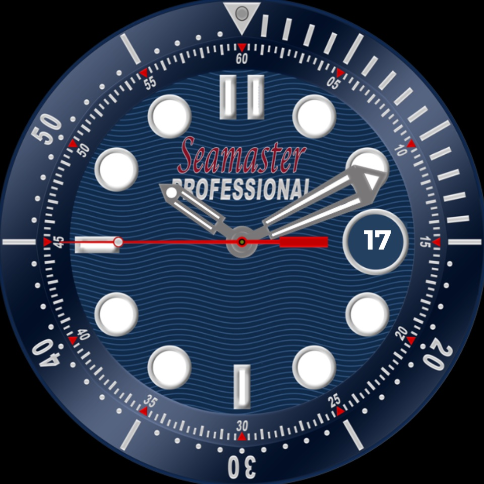 Seamaster for Samsung • Facer: the world's largest watch