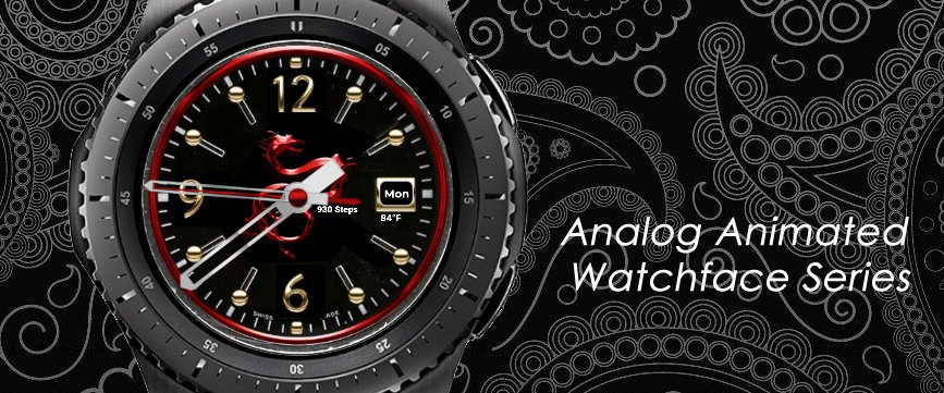 Checkout the Analog  Animated  Watchface Series