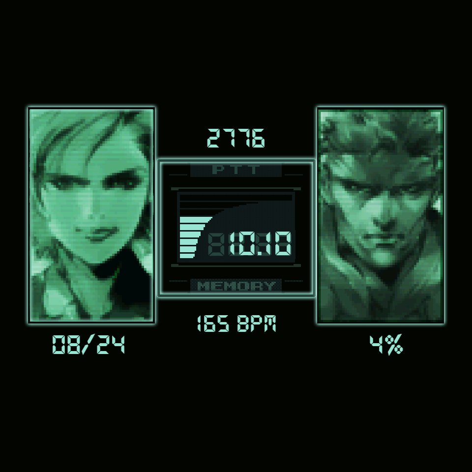 Metal Gear Solid Codec • Facer: the world's largest watch